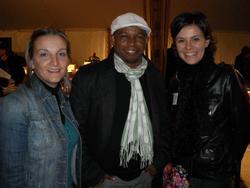 Nathalie, Salim Hatubou et Sandrine